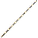The switchable light strip LL-PIC is a coach lighting with integrated decoder with 11 super bright, warm white LEDs.