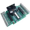 The Accessory Decoder WDMiba is an output device for controlling 8 semaphores and light signals of a Selectrix-controlled model railway layout.